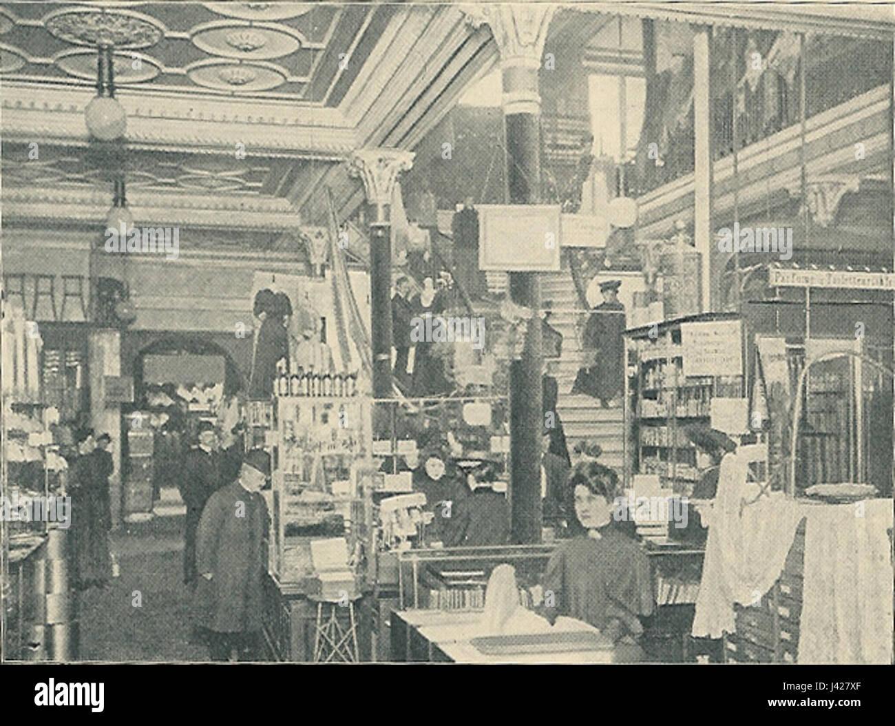 Magasin du Nord en afdeling - Stock Image