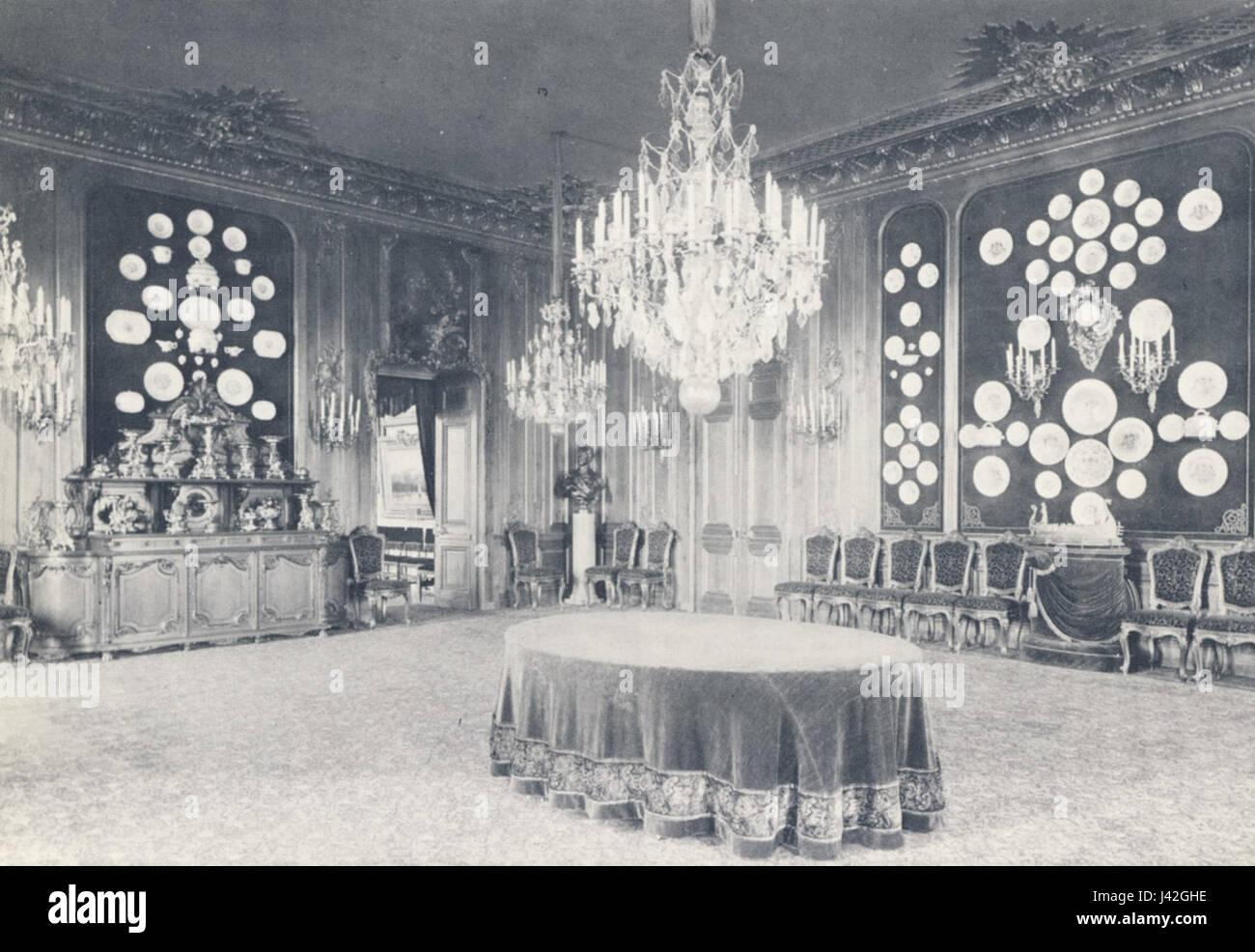 Lovisa Ulrikas matsal 1887 - Stock Image
