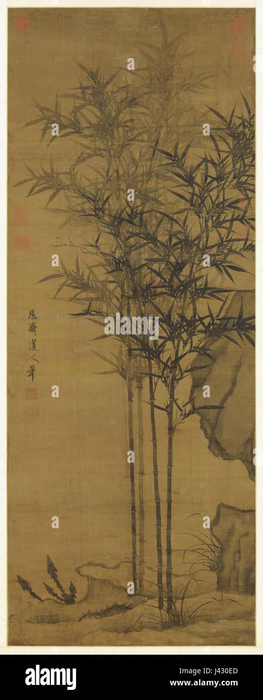Li Kan, Peace Throughout the Four Seasons, NPM,Taipei - Stock Image