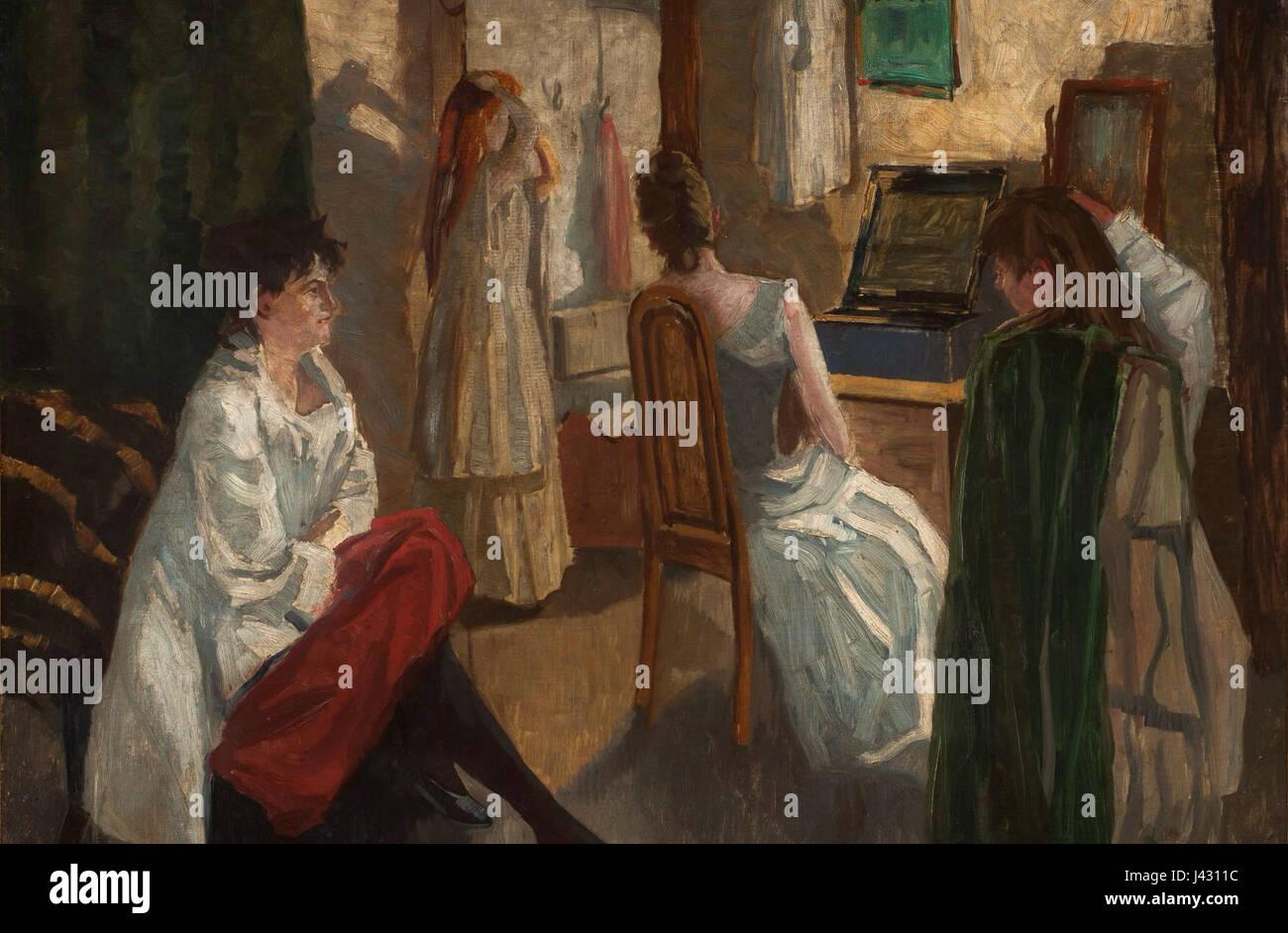 Lochen, Shauspielerinnen - Stock Image