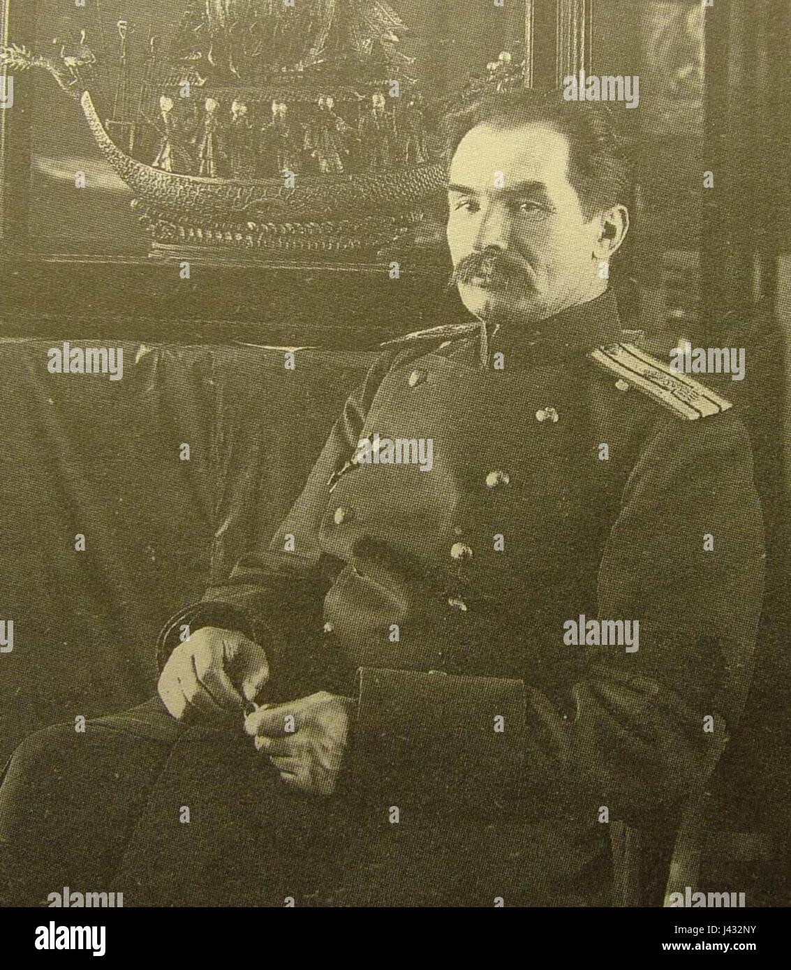 Kozlov P.K. 1908. Karl Bulla - Stock Image