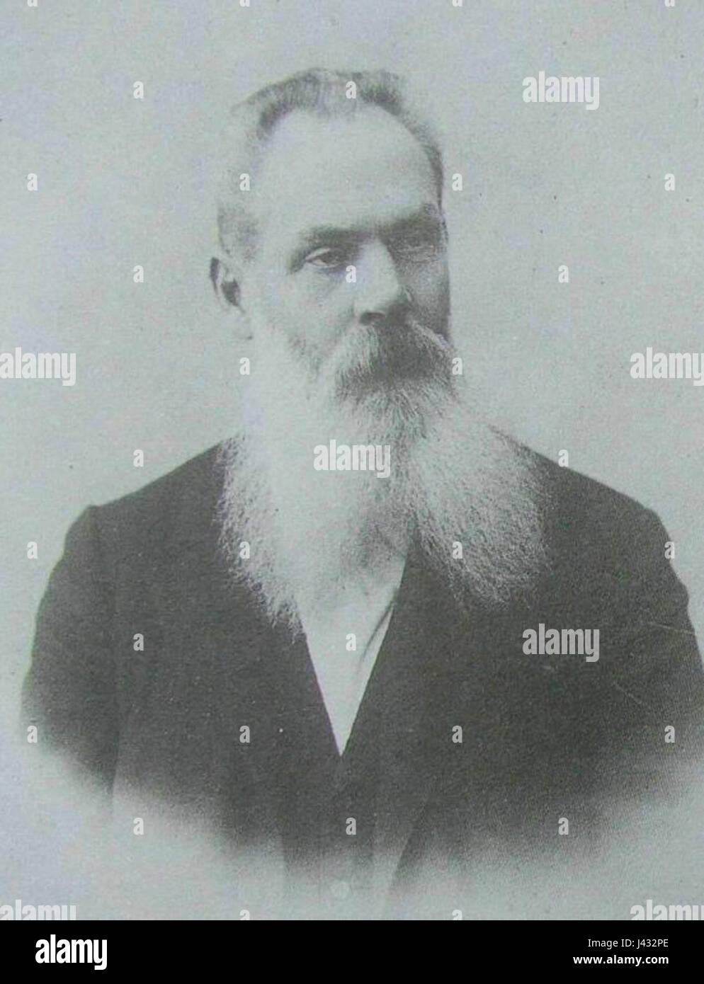 Marks A.F. 1900 e Karl Bulla - Stock Image