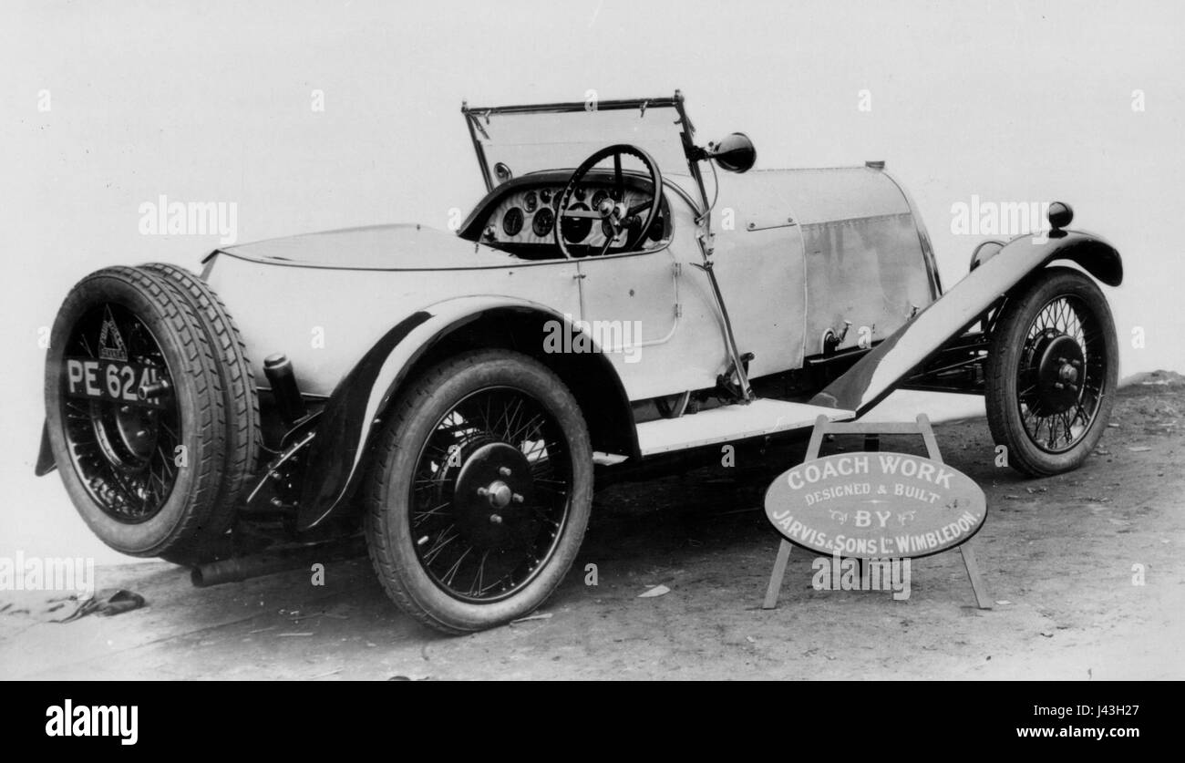 1926 Marlborough 2 litre with Jarvis body - Stock Image