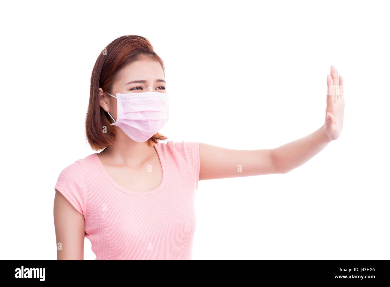2019 year for girls- How to face wear mask when sick