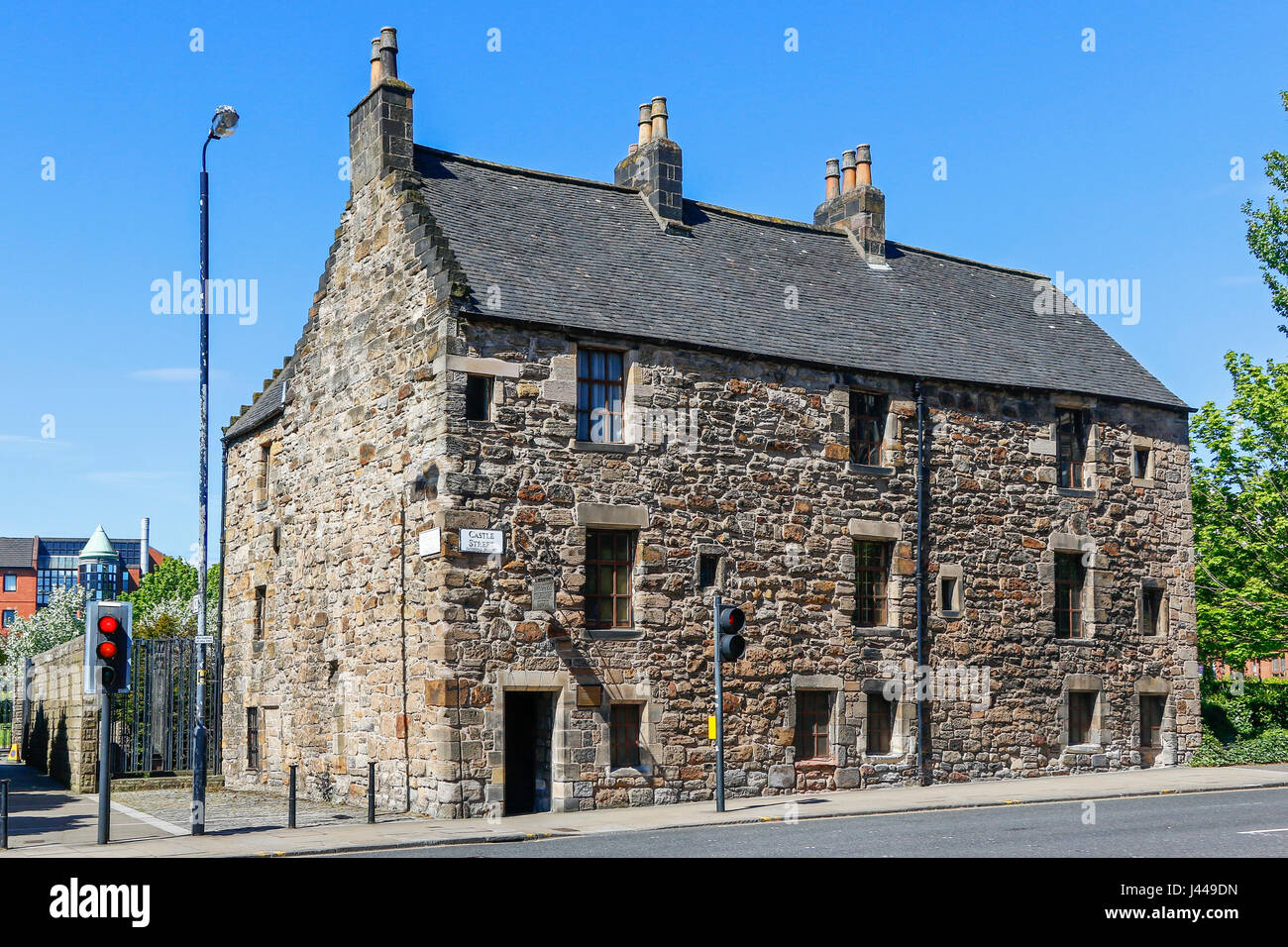 Provands Lordship, the oldest surviving house in Glasgow, Scotland, UK - Stock Image