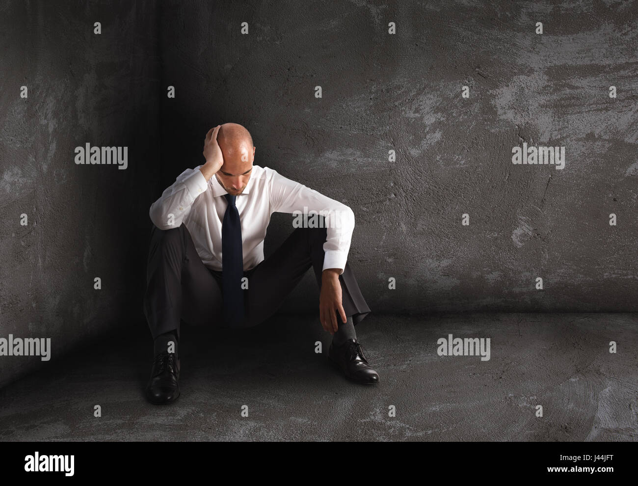 Desperate Man High Resolution Stock Photography And Images Alamy 67 anime images in gallery. https www alamy com stock photo alone desperate businessman solitude and failure concept 140243932 html