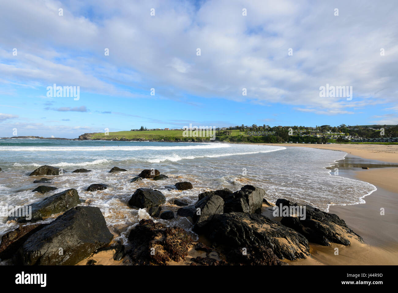 View of Easts Beach, Kiama, Illawarra Coast, New South Wales, NSW, Australia Stock Photo