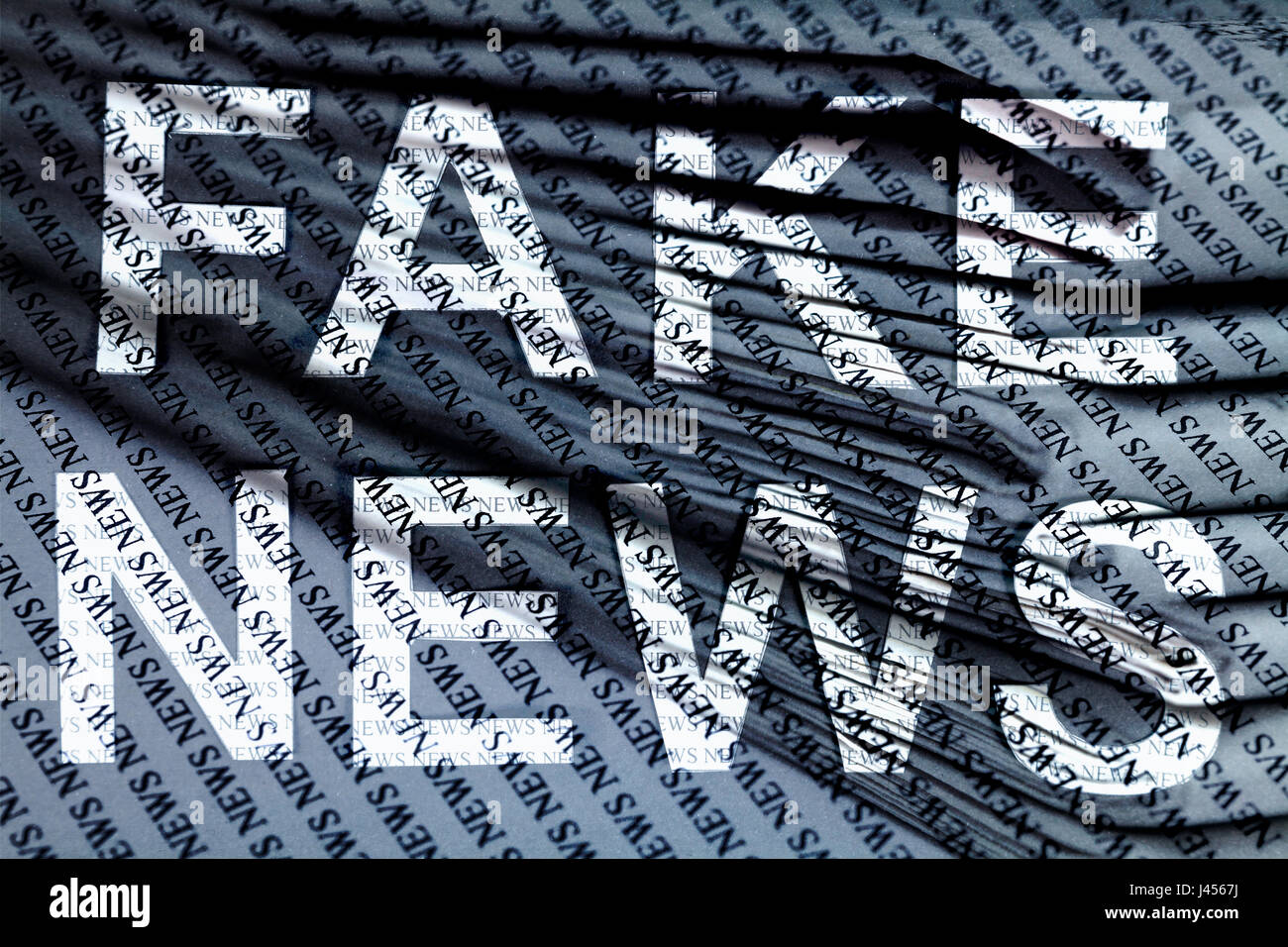 Fake News - Stock Image