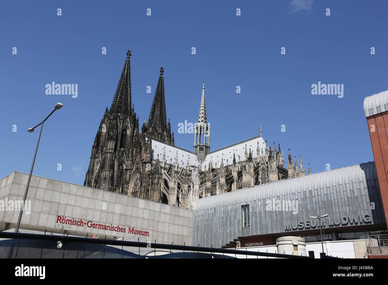 Germany, Cologne,Roman Germanic Museum, Römisch-Germanisches Museum,Köln Stock Photo