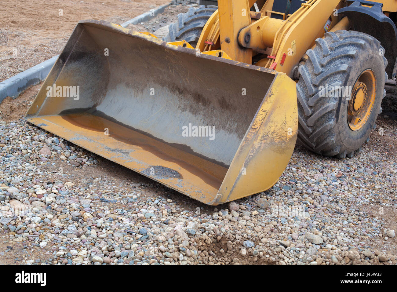 Construction and repair of the road. Stock Photo