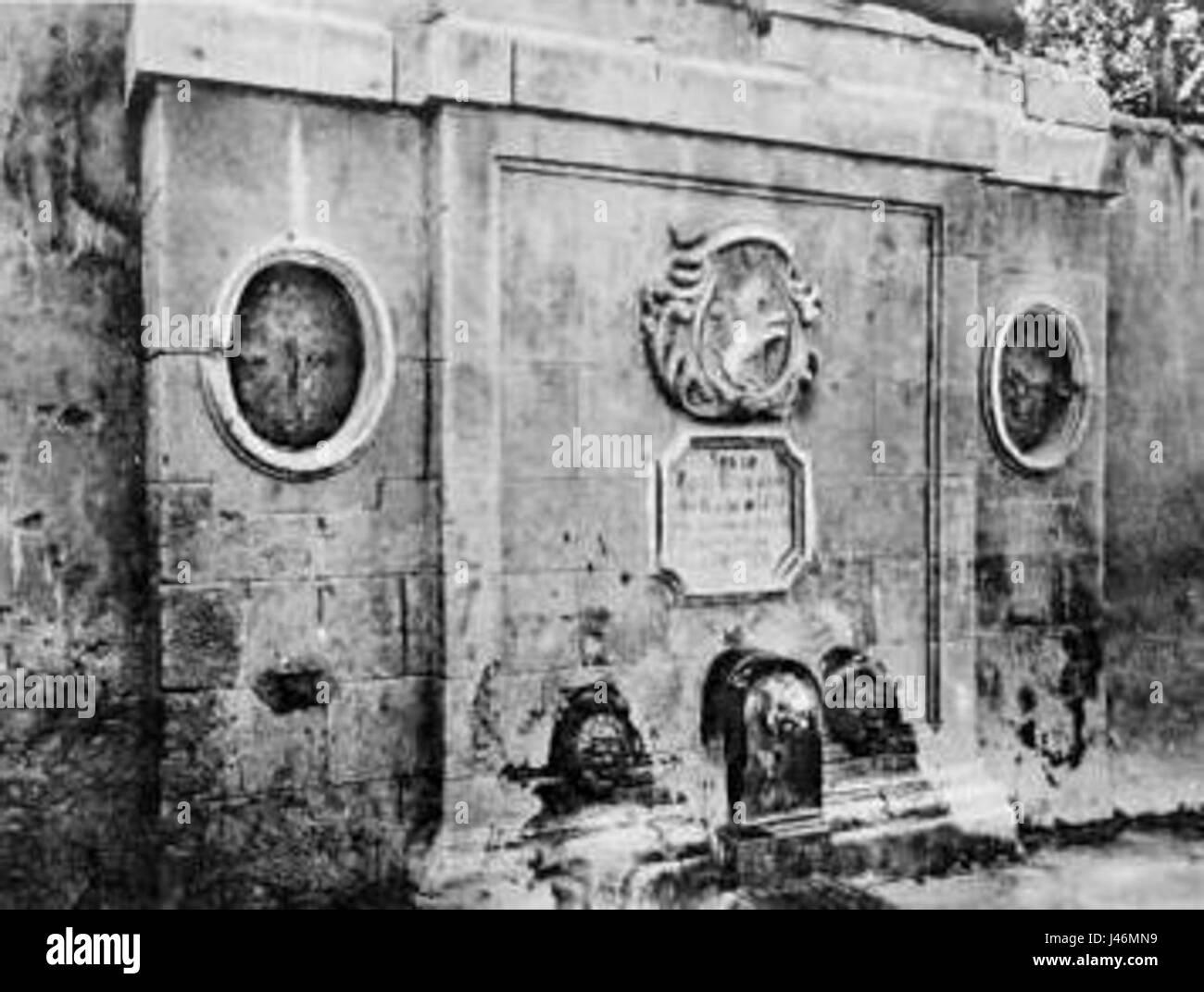 Oran Fontaine espagnole - Stock Image