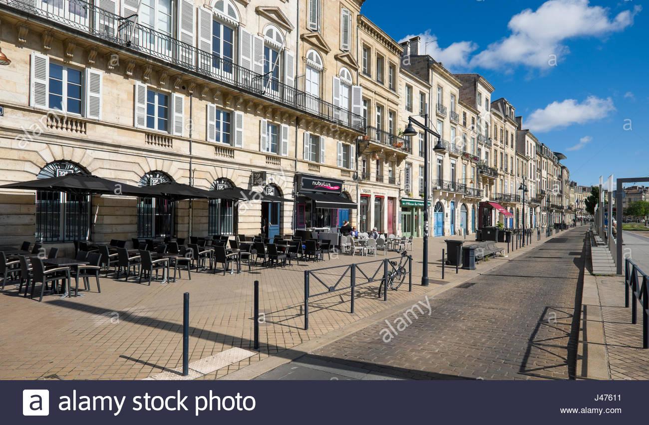 Bordeaux cafe stock photos bordeaux cafe stock images alamy - La table du quai bordeaux ...