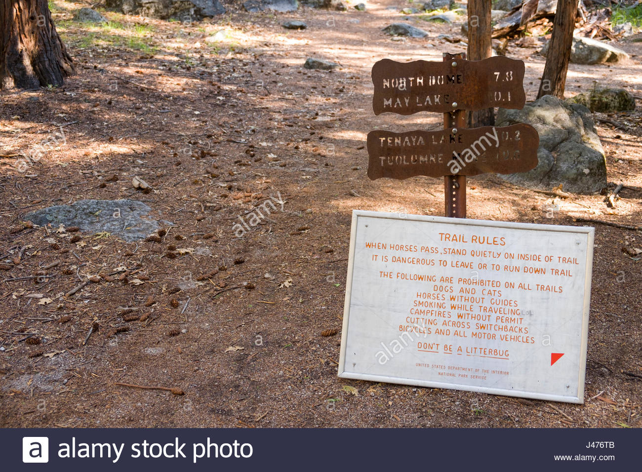 Trail Rules Stock Photos & Trail Rules Stock Images - Alamy