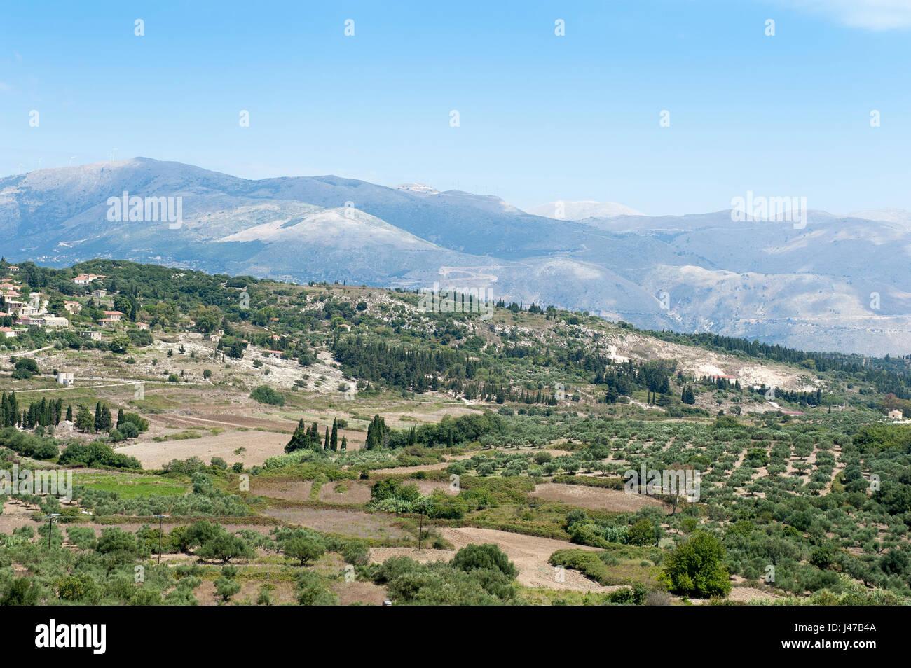 Agia Thekli, Kefalonia, Ionian Islands, Greece, Europe - Stock Image