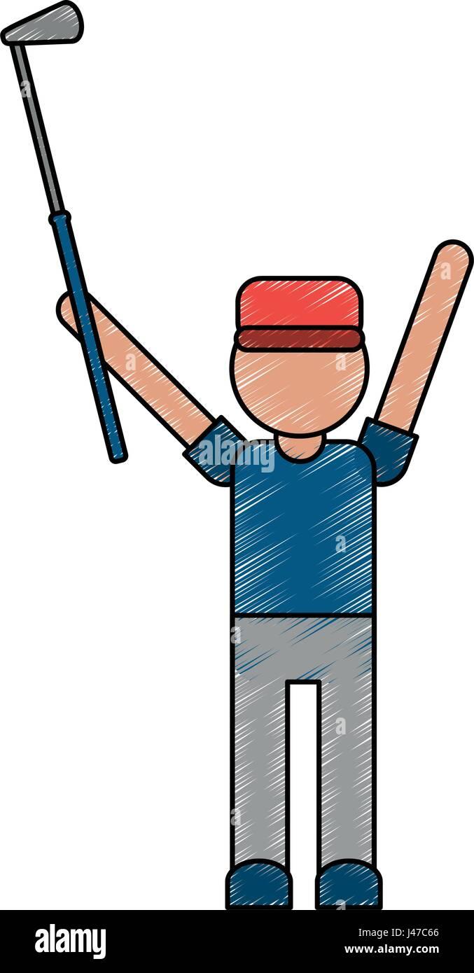 Golfer Cartoon Stock Photos & Golfer Cartoon Stock Images - Alamy on cartoon golf club clip art, cartoon golf club swing, the step to draw a cartoon golf club, cartoon man golf club,