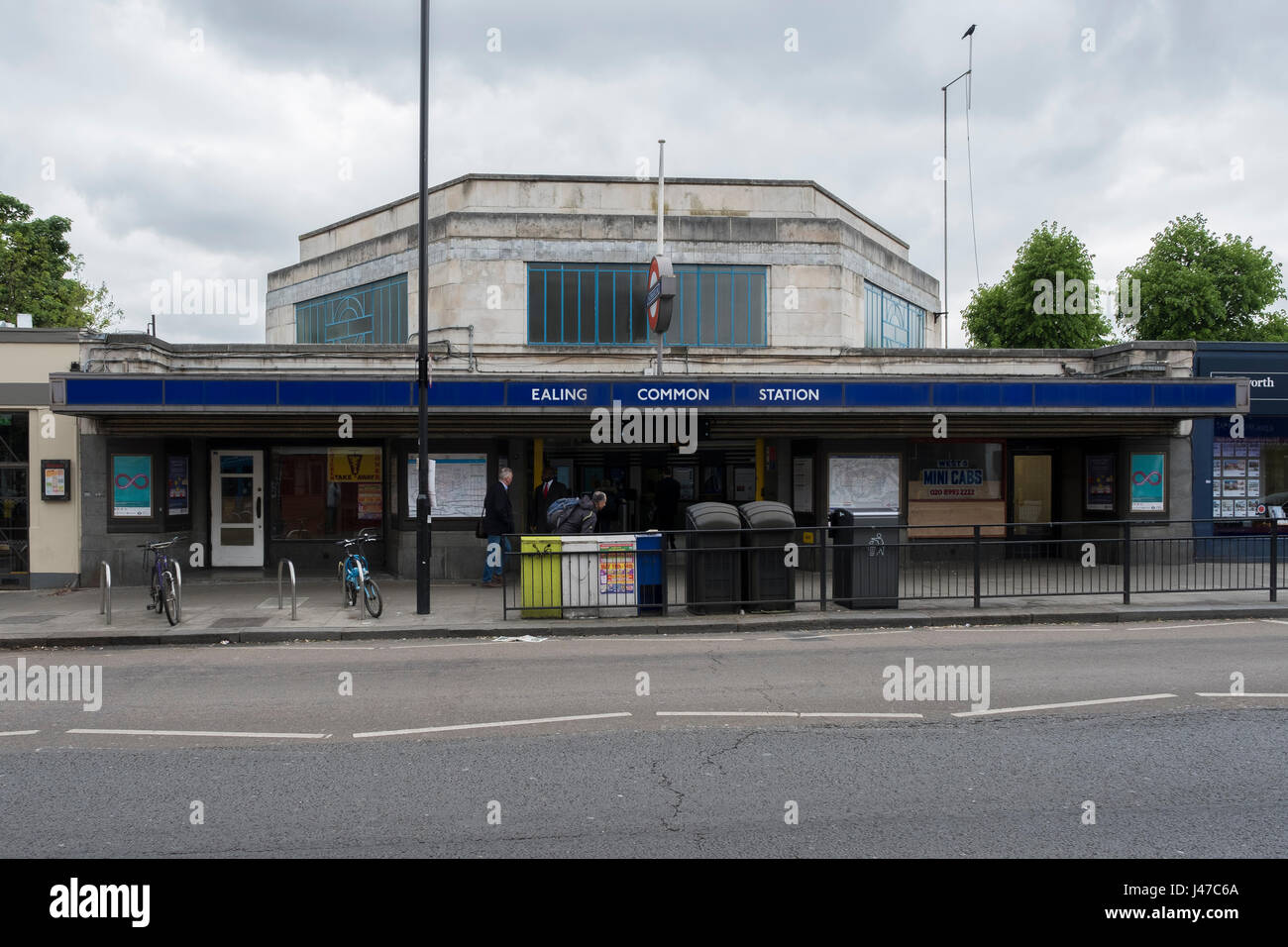 Ealing Common station - Stock Image