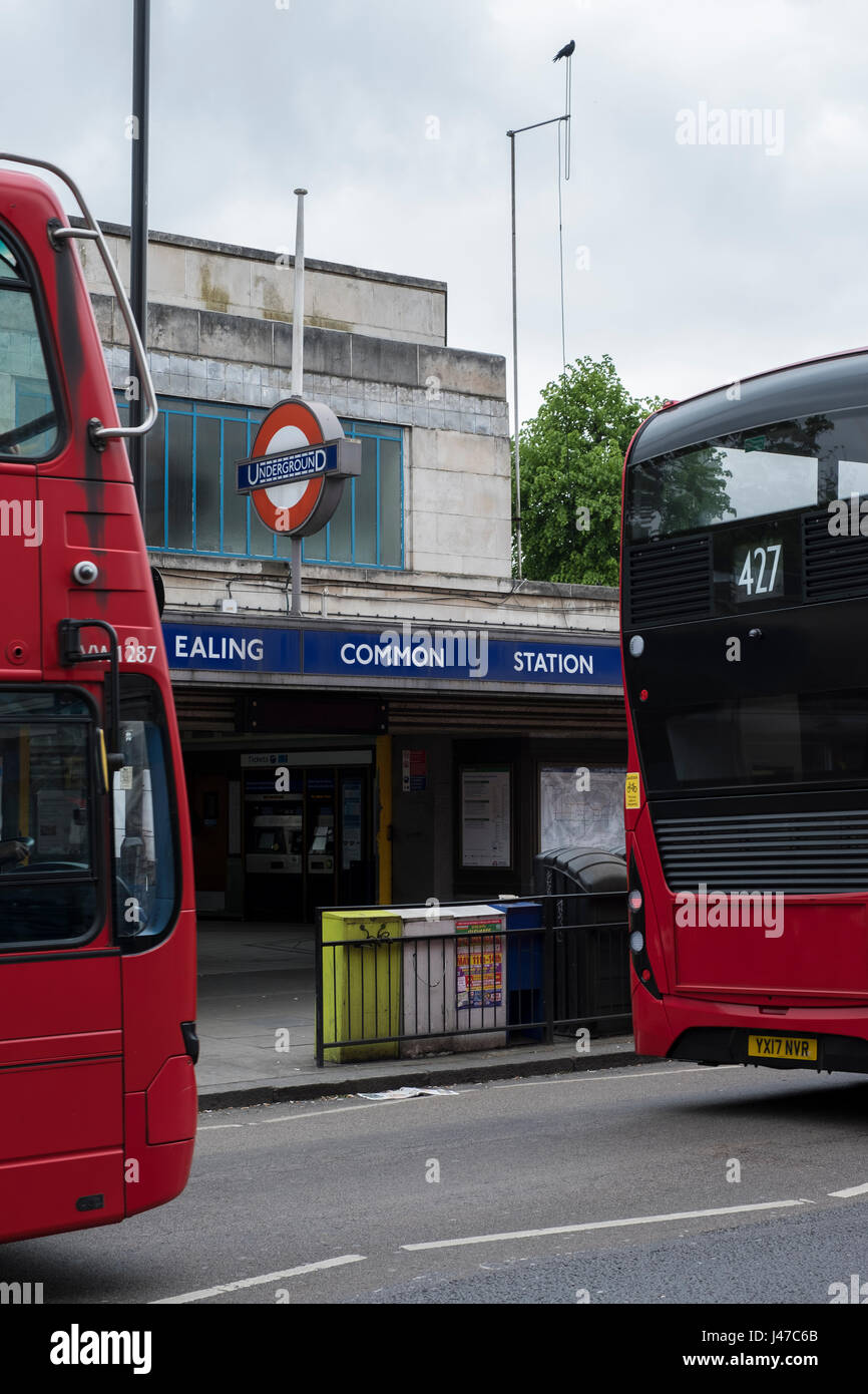 Ealing Common station - Stock Image