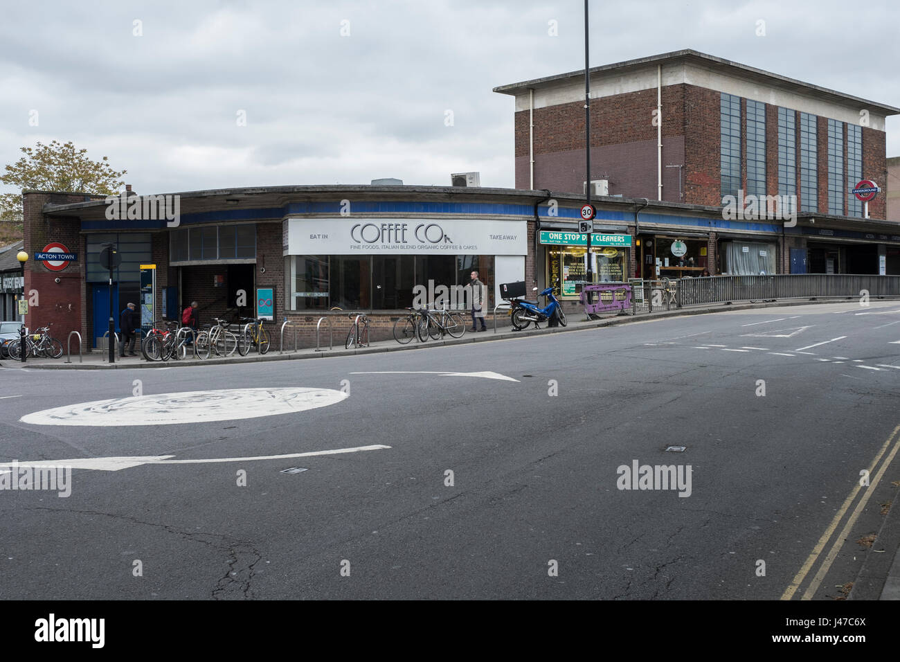 Acton Town station - Stock Image