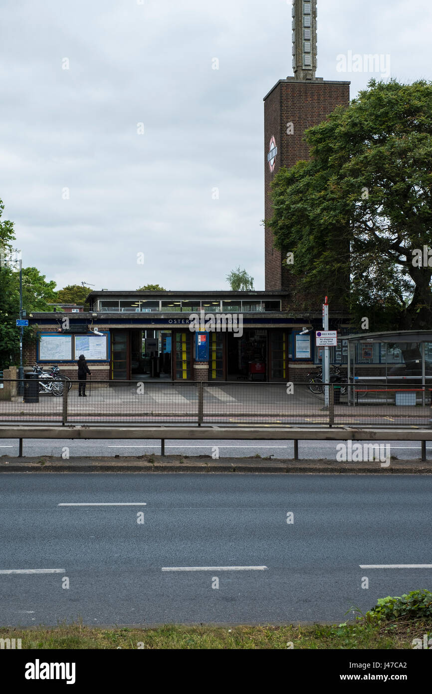 Osterley station - Stock Image