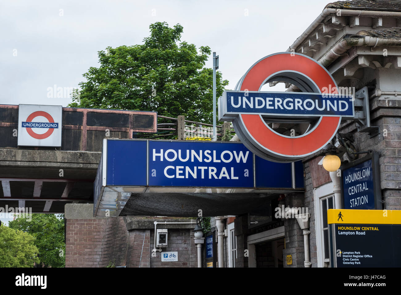 Hounslow Central station - Stock Image