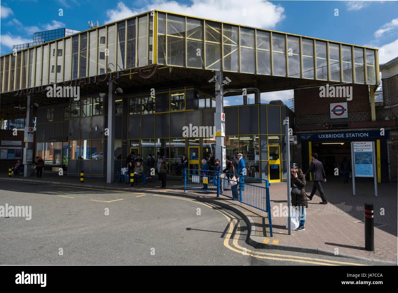 Uxbridge station Stock Photo
