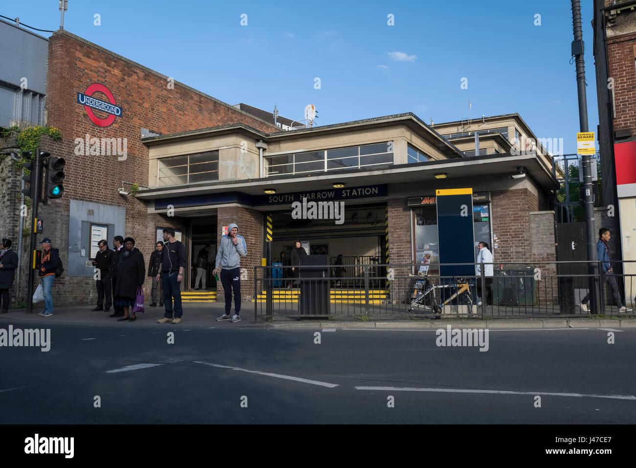 South Harrow station - Stock Image