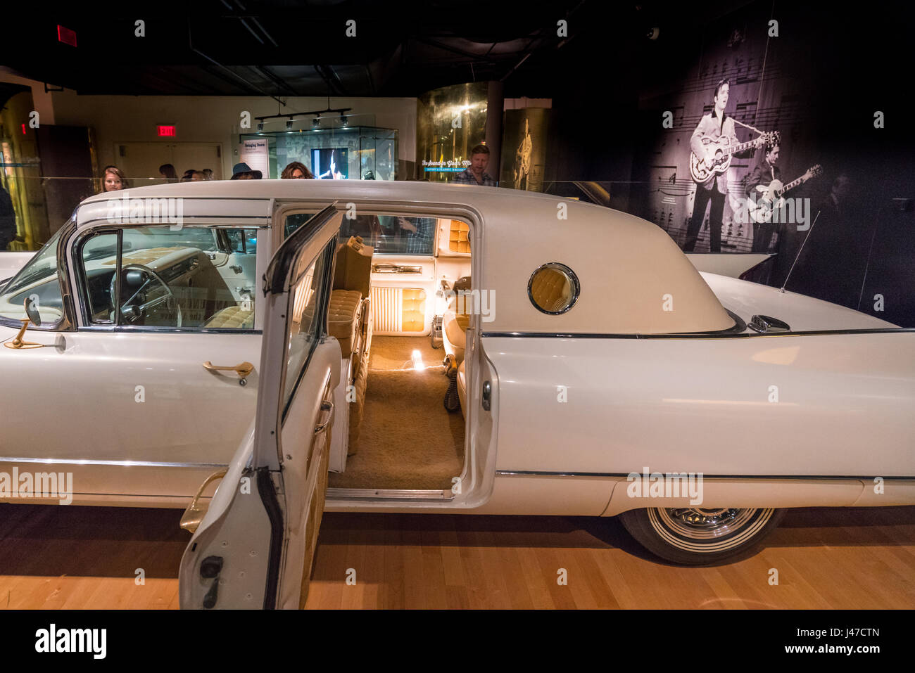 Elvis Presley S Custom Gold Cadillac At The Country Music Hall Of