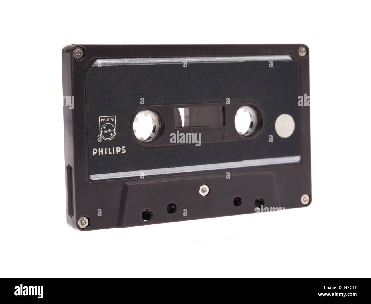 Philips EL 1903-01 first commercially available audio compact cassette 1963 - Stock Image