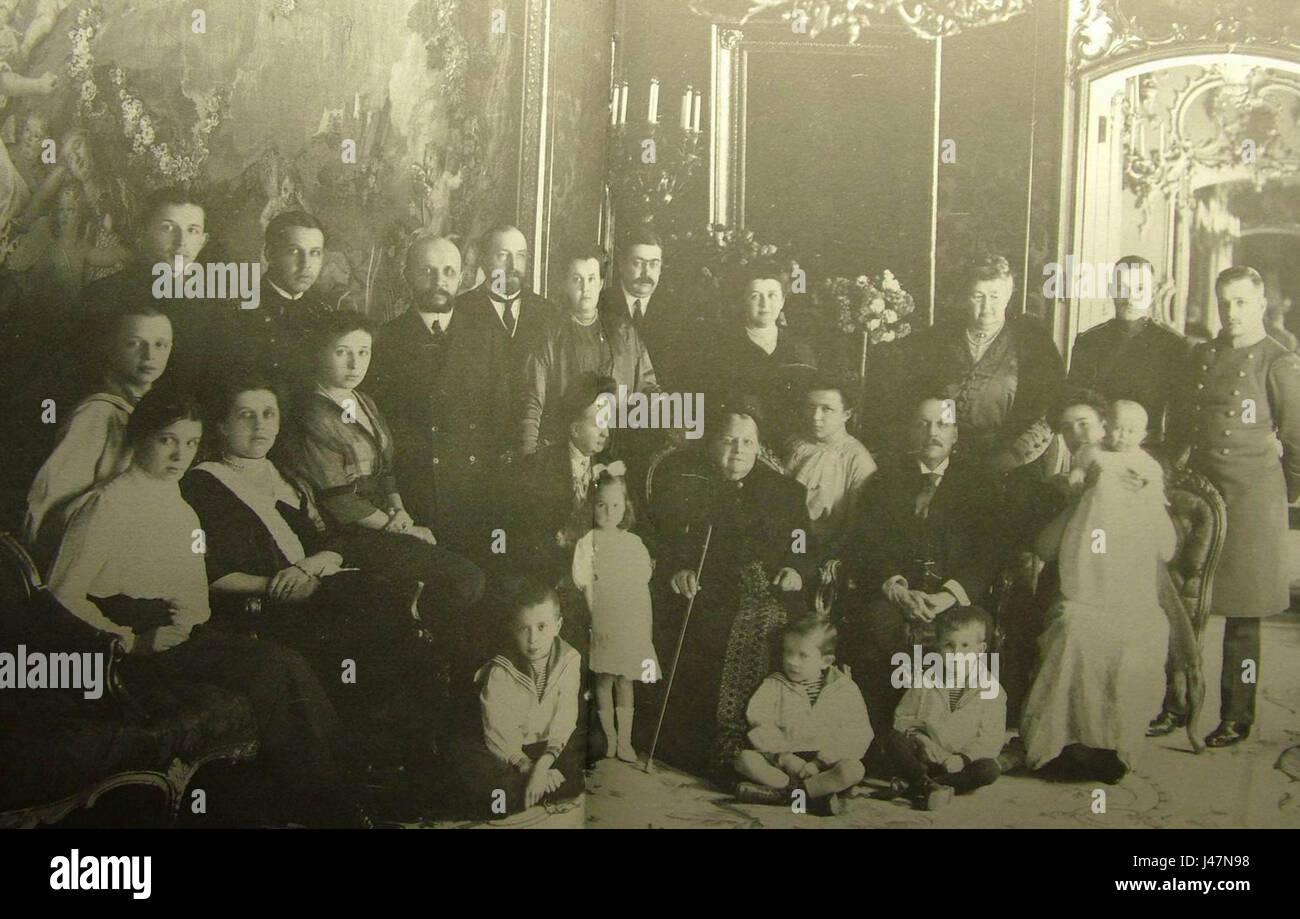 Musiny Pushkiny 1913. Karl Bulla - Stock Image
