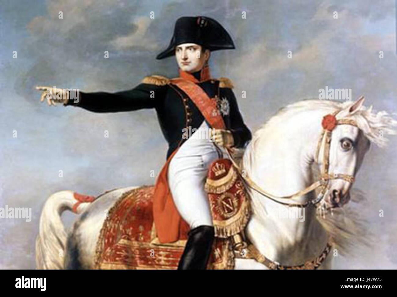 Napoleone Bonaparte Stock Photo - Alamy