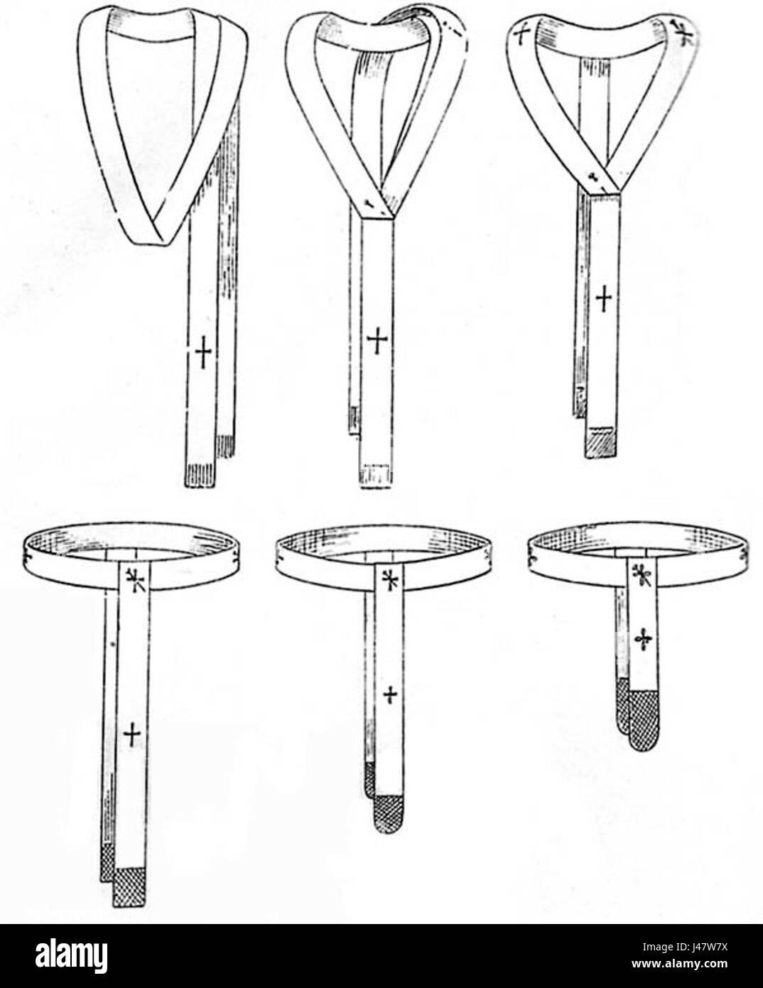 Pallium (Geschichte) - Stock Image