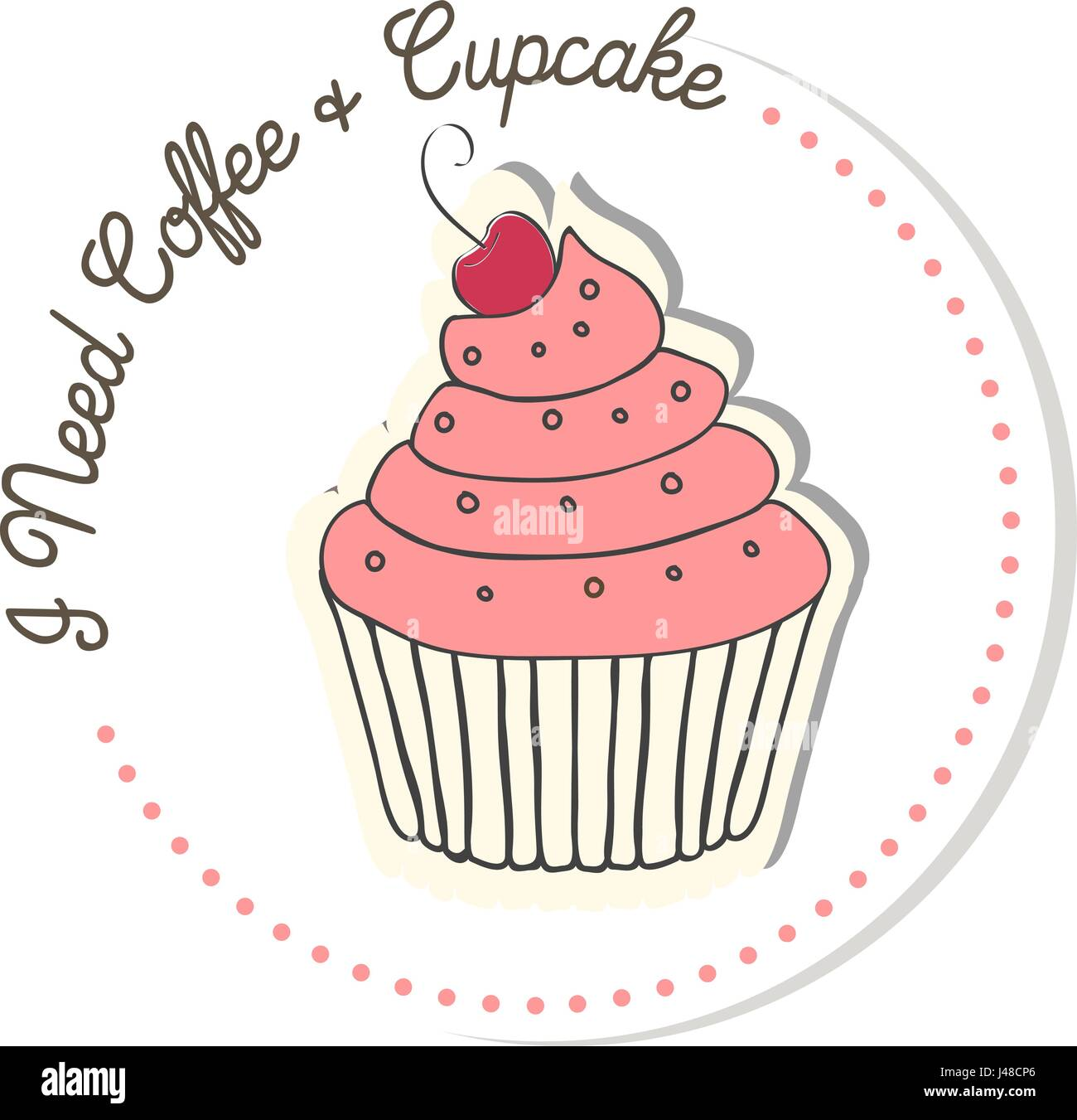 Muffin Blueberry Chocolate And Chocolate Chip Vector Illustration Stock Vector Image Art Alamy