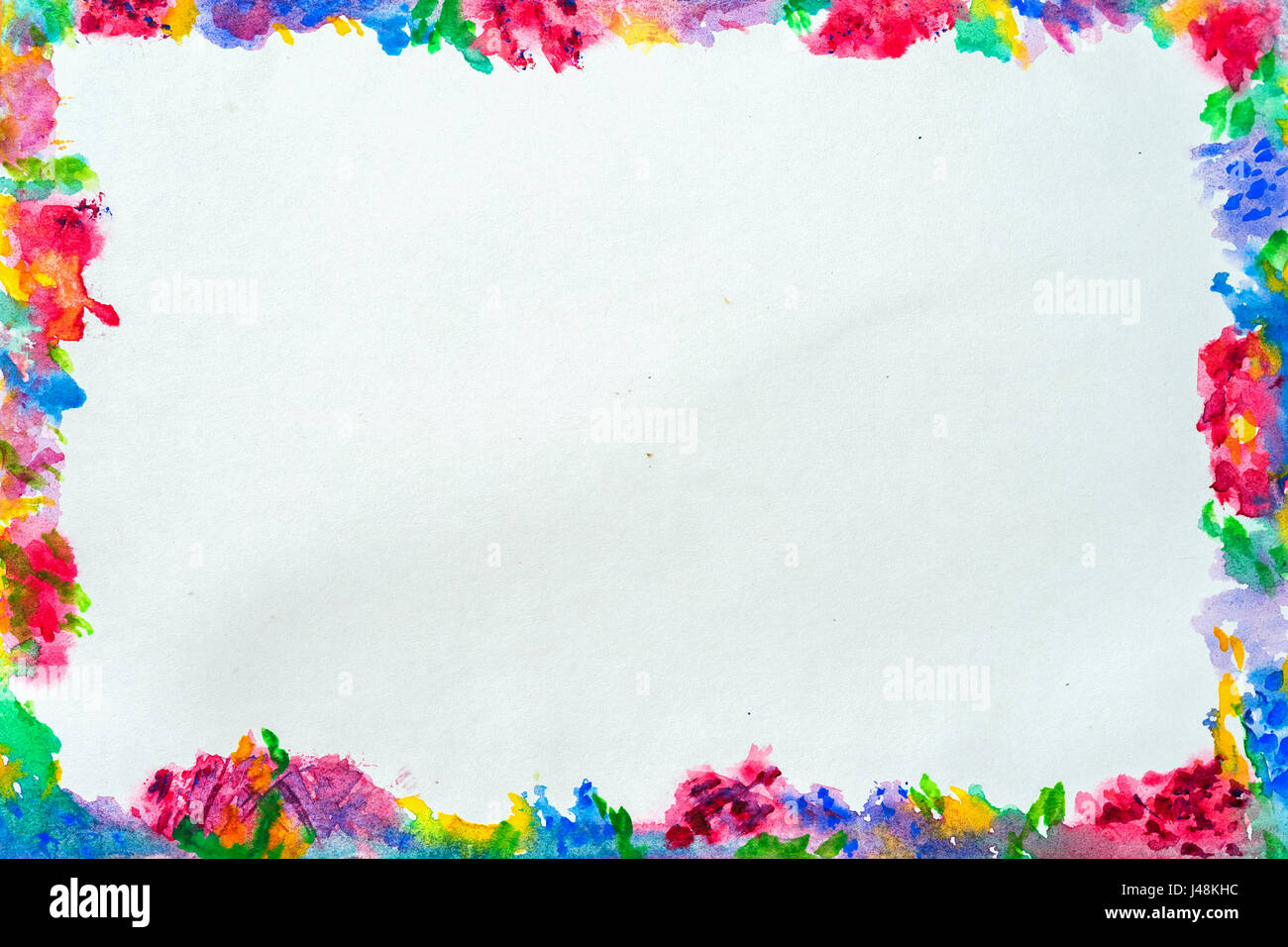 colorful border for text or banner card template design formed