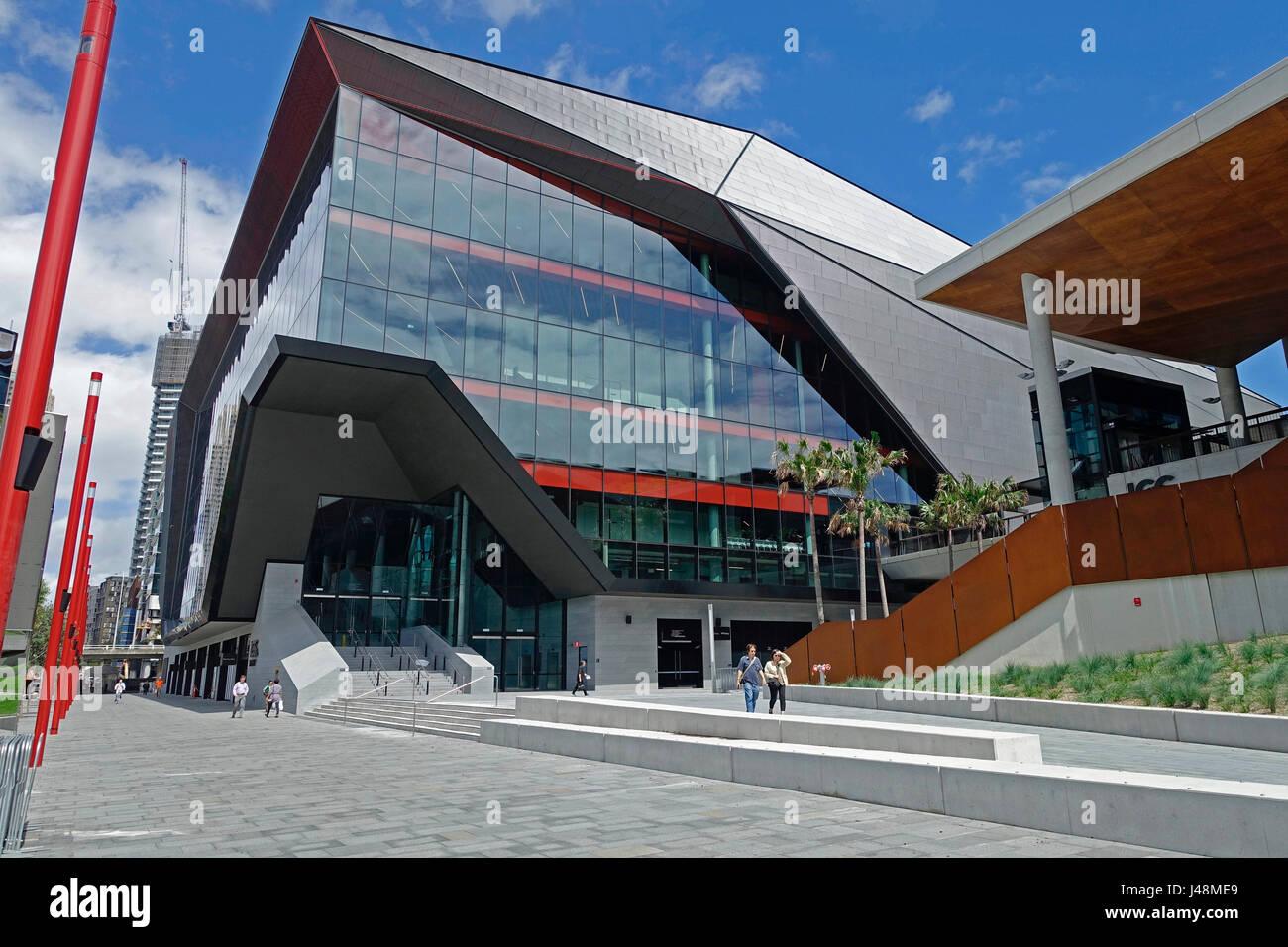 The ICC Sydney Theatre at The International Convention Centre Sydney (ICC Sydney), Australia - Stock Image