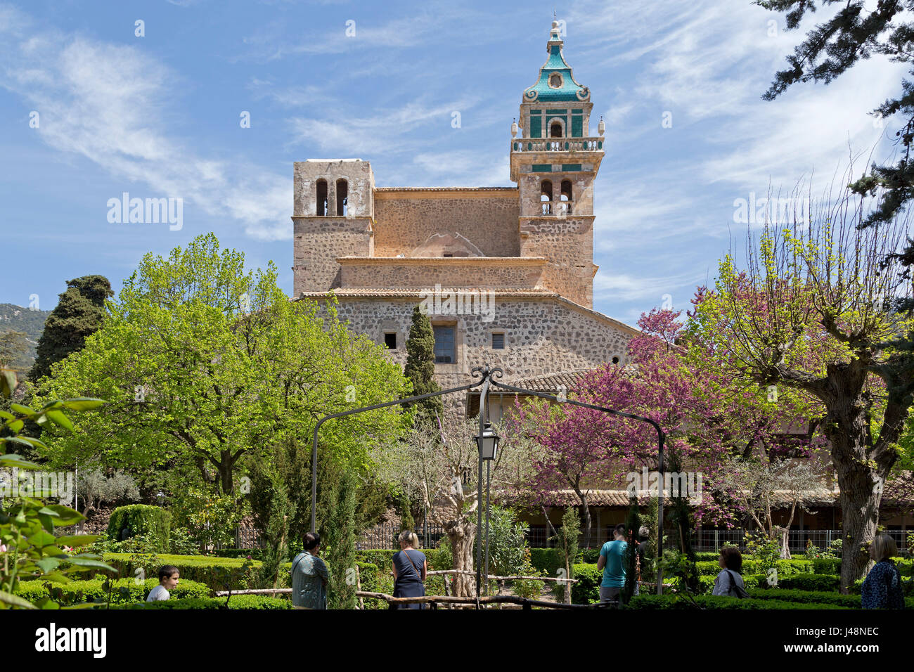 Cartuja in Valldemossa, Majorca, Spain - Stock Image