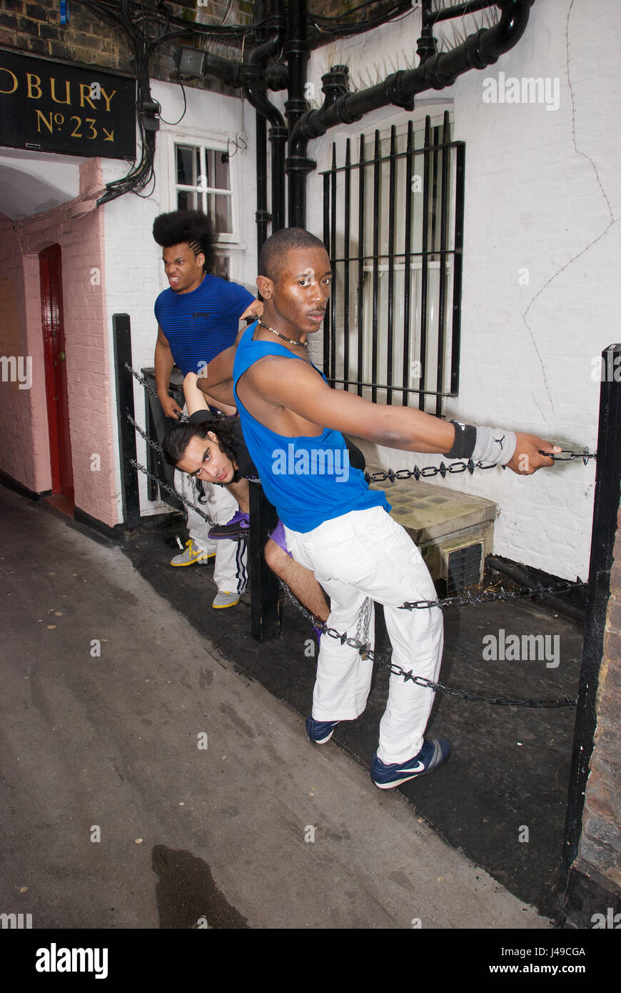male stripper training