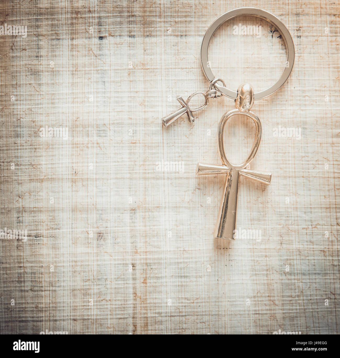 Egyptian Cross Ankh Stock Photo: 140350576 - Alamy