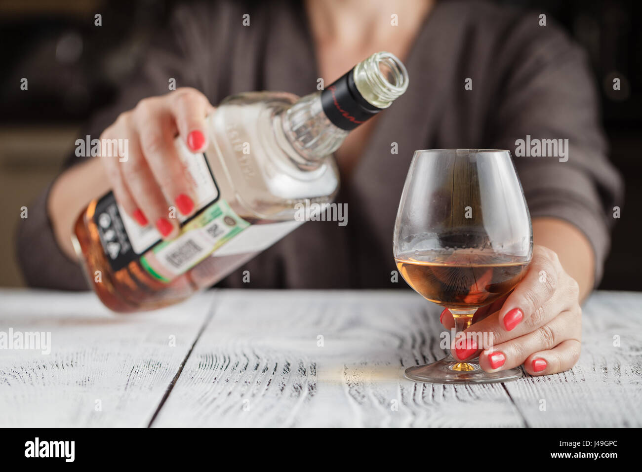 Lonely and thirsty - Stock Image