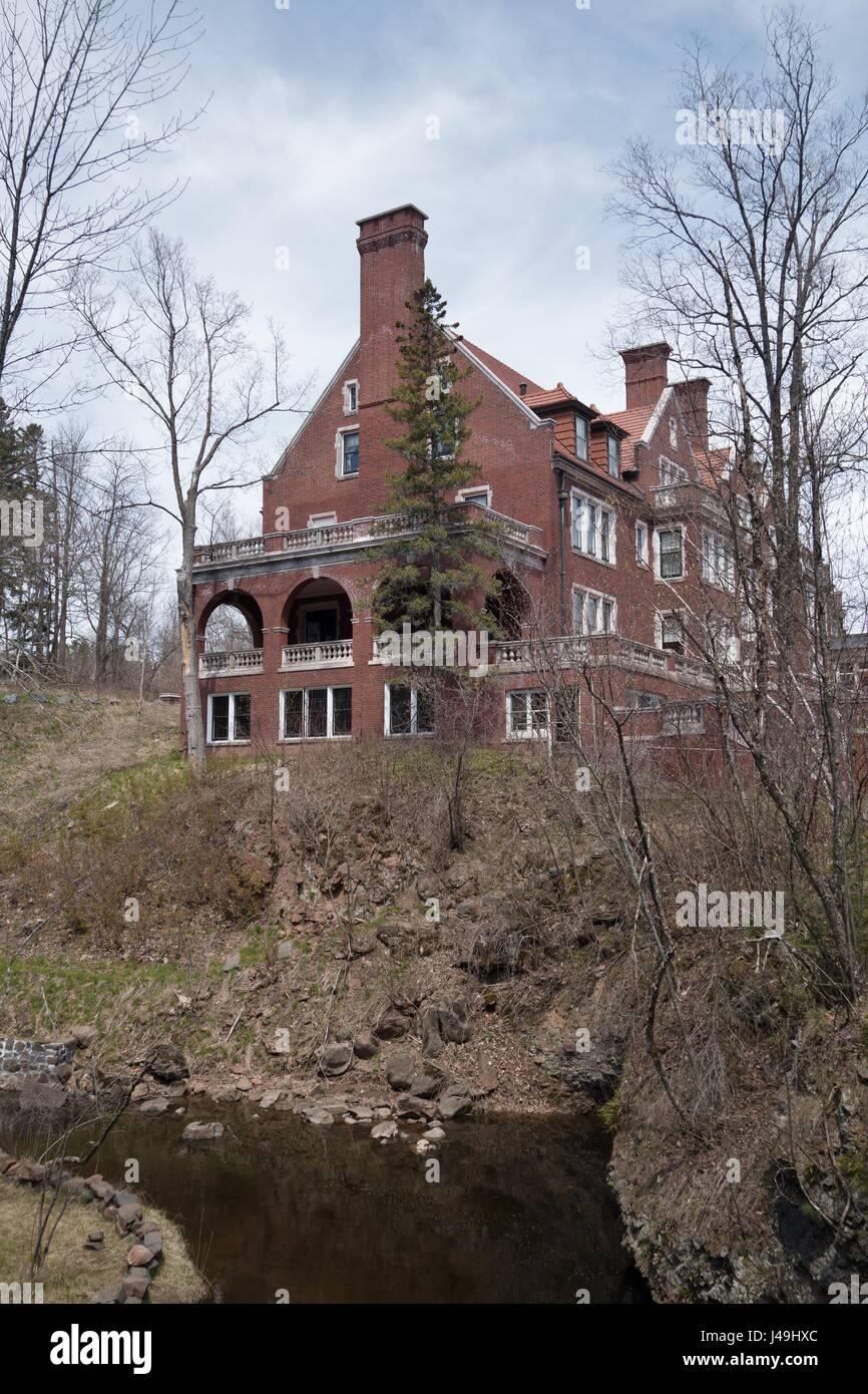 Glensheen Mansion in Duluth, Minnesota, USA. - Stock Image