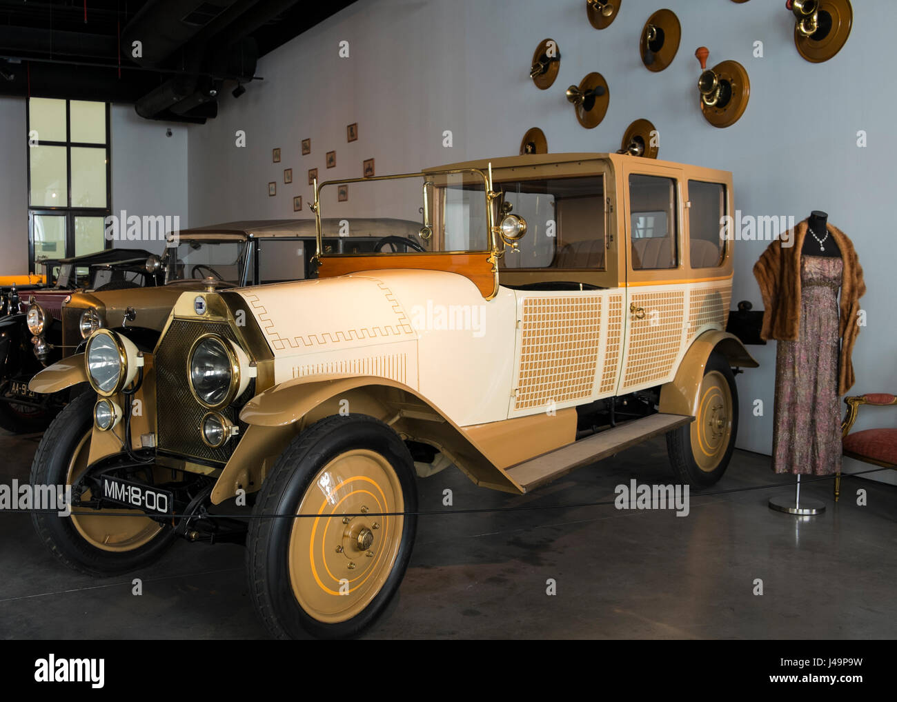 1921 Lancia Dikappa. Automobile museum of Málaga, Andalusia, Spain - Stock Image