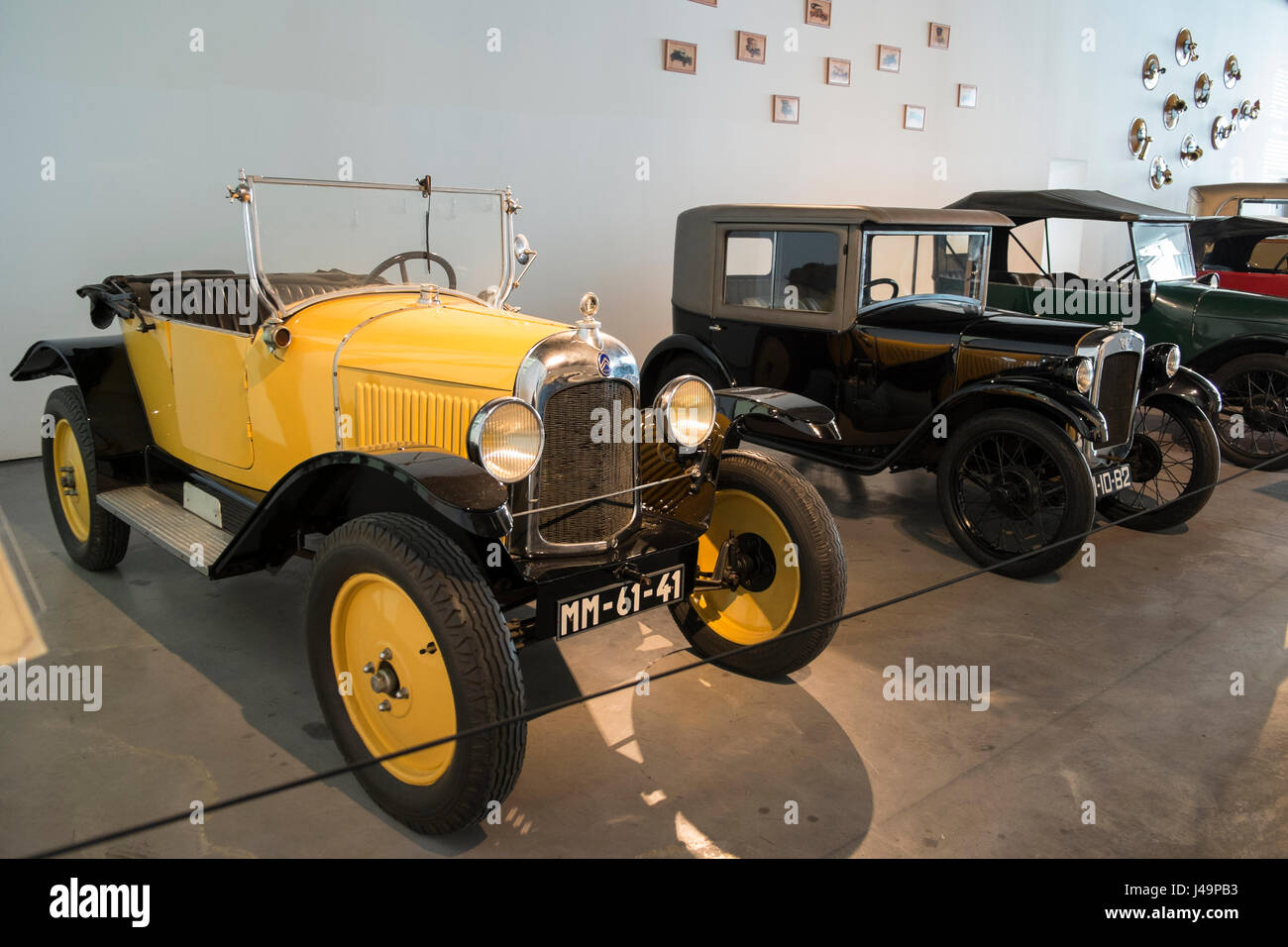 1922 Citroën Type C. Automobile museum of Málaga, Andalusia, Spain - Stock Image
