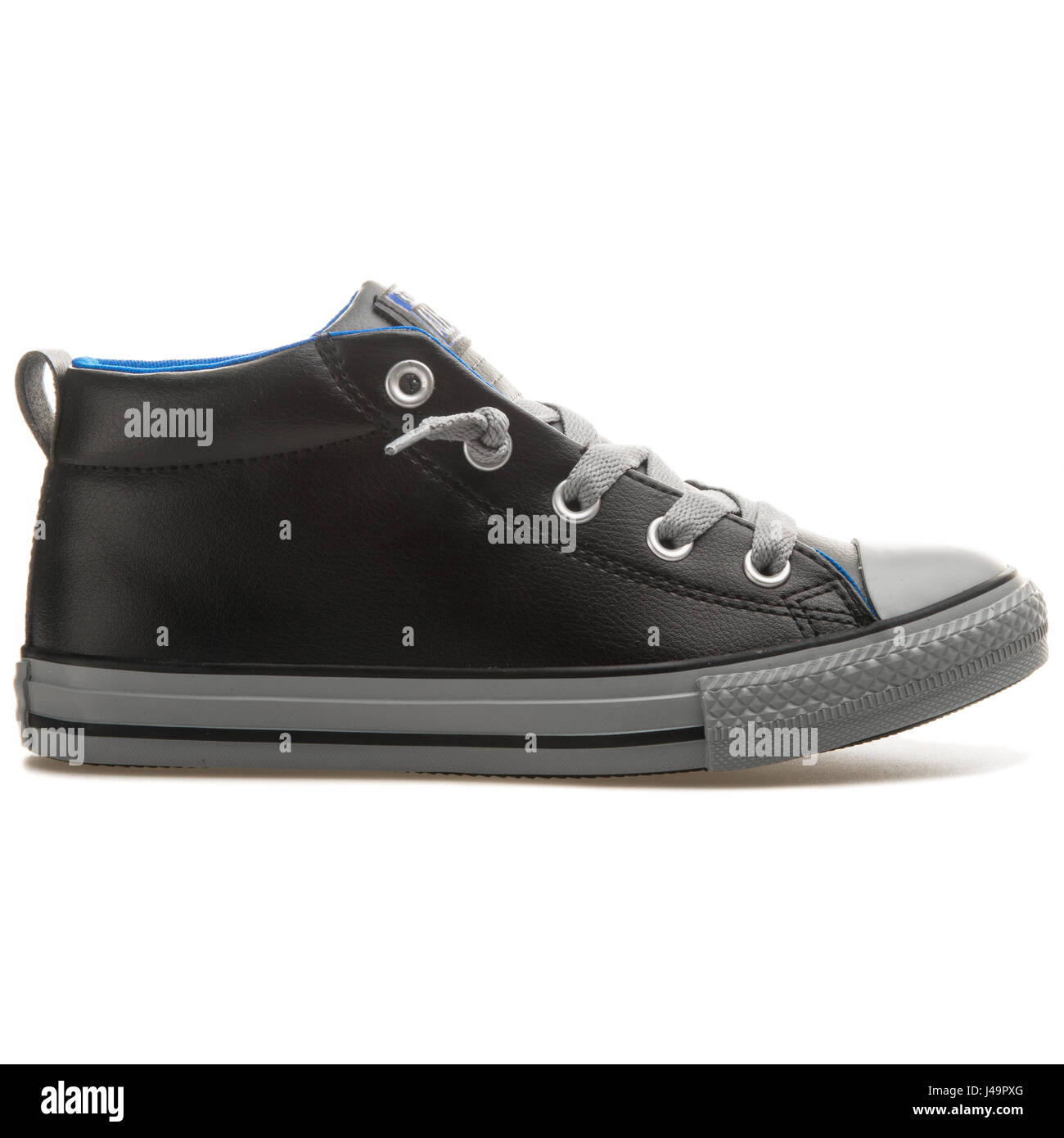 converse all star street mid leather