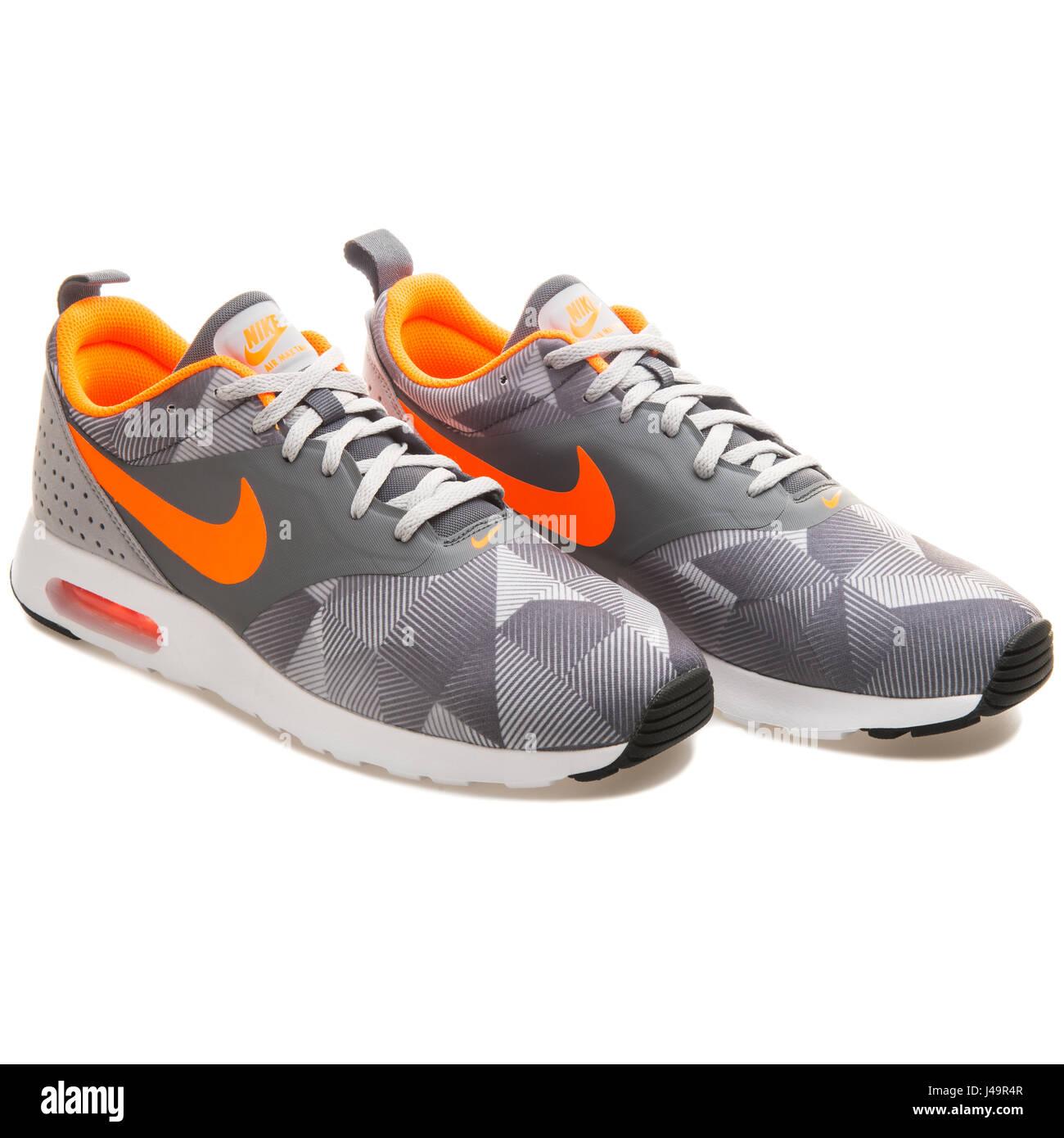 best sneakers 1cd58 176b5 Nike Air Max Tavas Print Dark Grey Orange - 742781-018