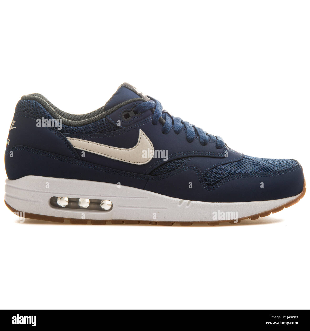 new arrival 7ceb1 11faa Nike Air Max 1 Essential Midnight Navy - 537383-401 - Stock Image