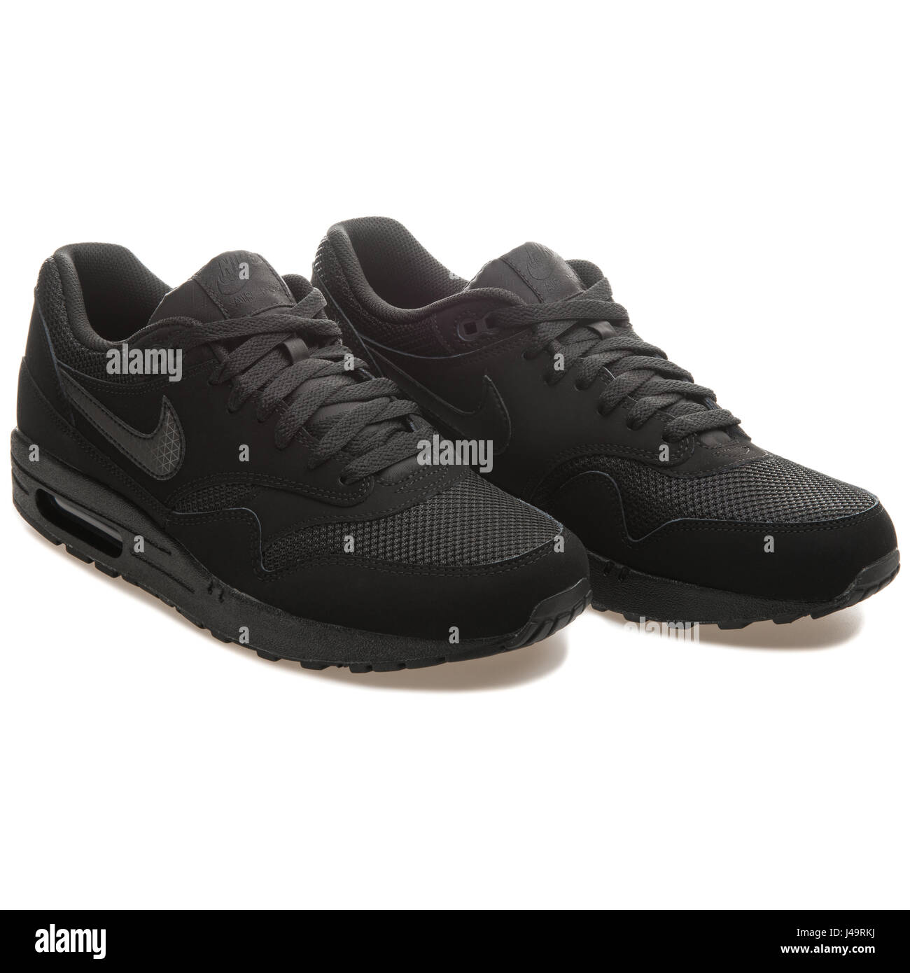 0dcf11f9 Nike Air Max 1 Essential Black - 537383-025 Stock Photo: 140357718 ...