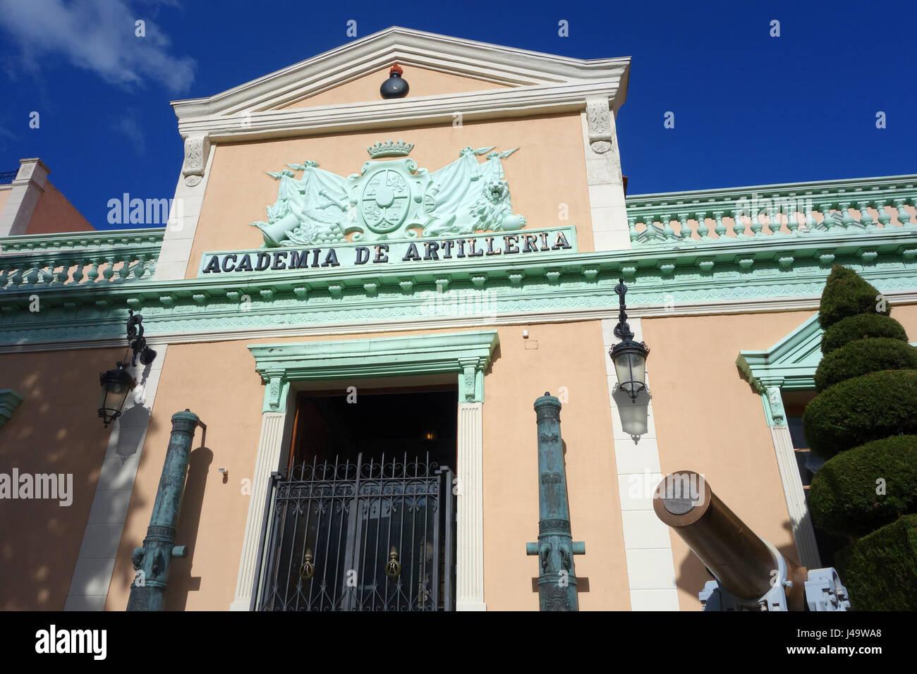 Real Colegio de Artiller'a de Segovia (Academia de Artiller'a) Segovia Spain - Stock Image