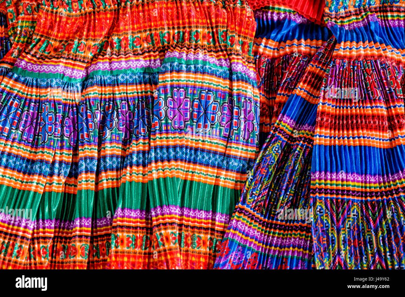 SAPA, VIETNAM - CIRCA SEPTEMBER 2014:  Typical dresses in the Sapa street market in North Vietnam - Stock Image