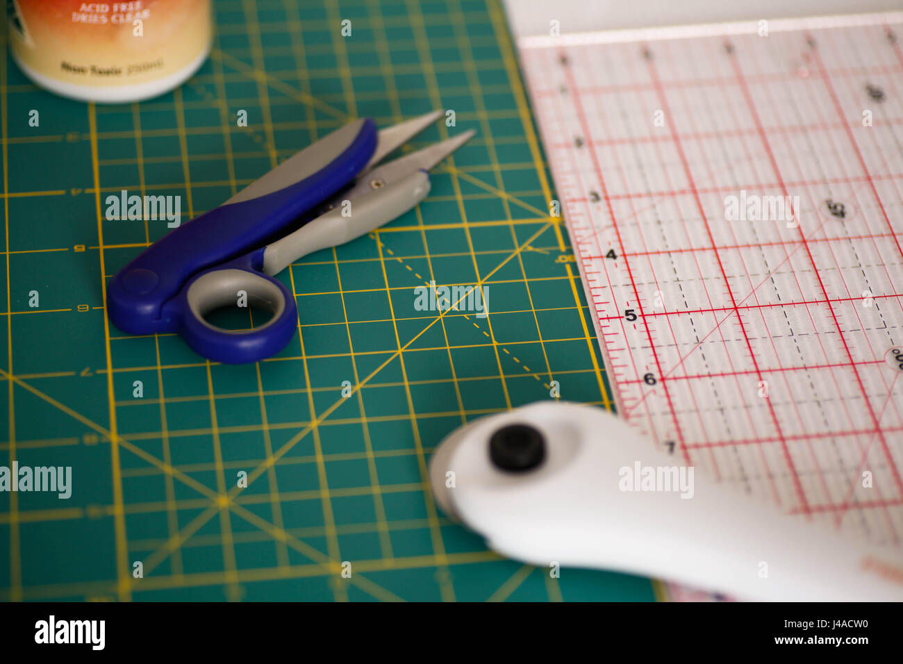 Crafting Table Cut to Measure - Stock Image
