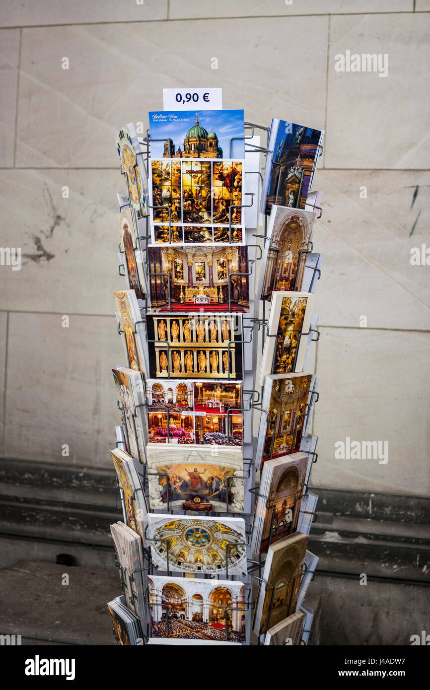 Postcards from Italy - Stock Image