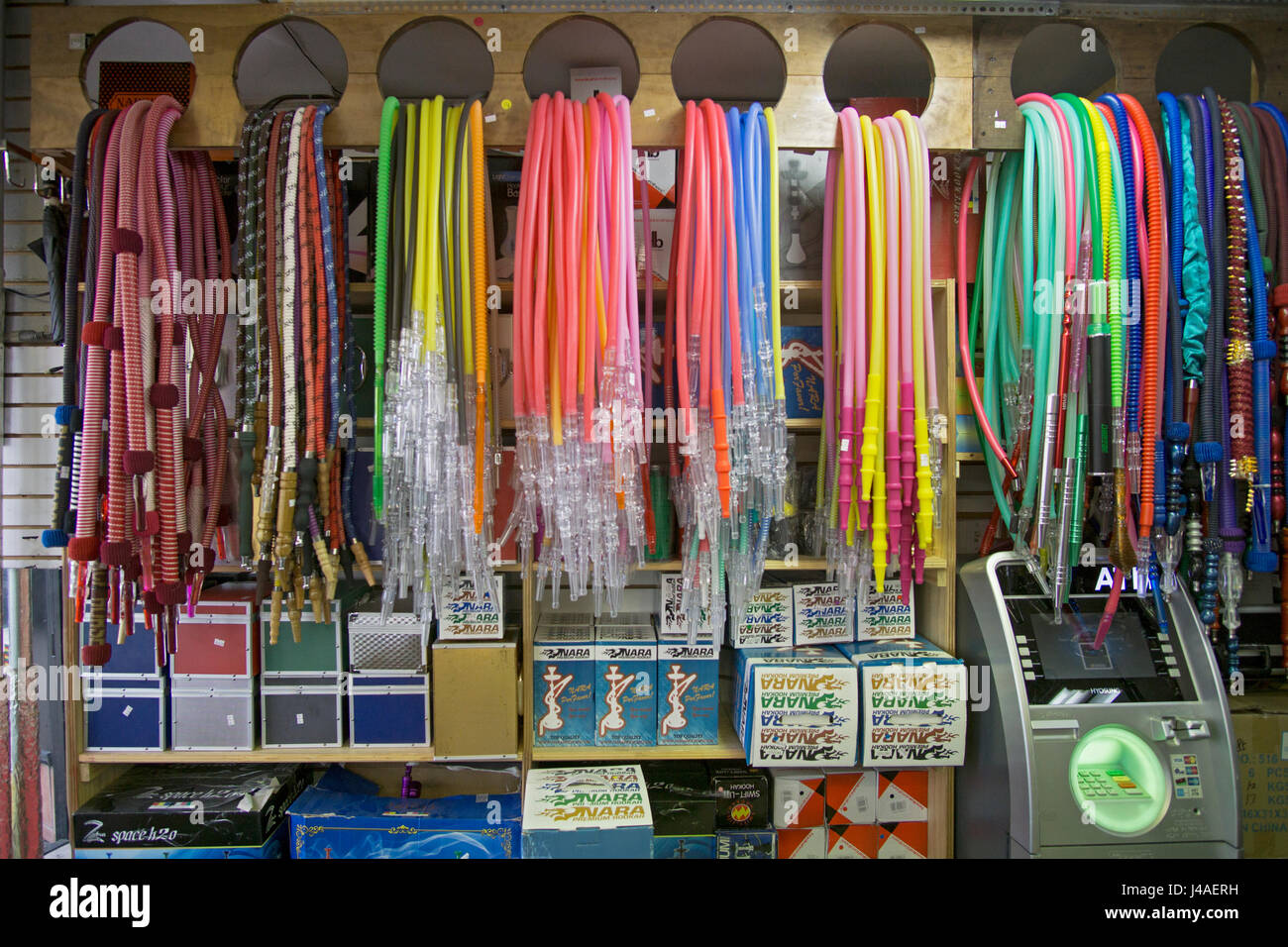 Hookah pipe hoses for sale at the Best Buzz Hookah Shop in